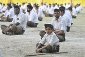 The RSS leader exhorted thousands of swayamsevaks at the event to fight the prevalent caste system.