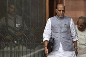 Pakistan conspiring to break up India: Rajnath Singh