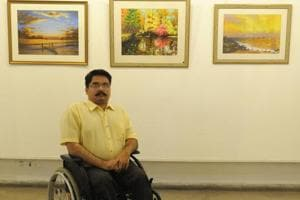Chandigarh: Paraplegic artist finds passion in recreating nature on...