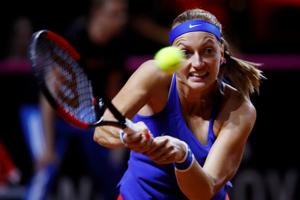 Petra Kvitova outplays Angelique Kerber to send Czechs into Fed Cup...