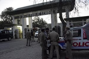 Ghaziabad: Body found at main entrance of DPS-HRIT campus