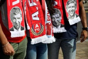 Merci Arsene Wenger! Arsenal fans bid goodbye to legendary...