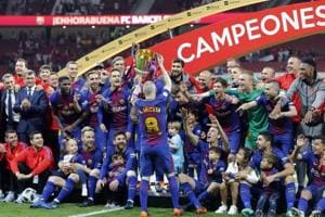 FC Barcelona hammer Sevilla to win 30th Copa del Rey title
