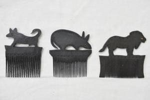 Photos: Unusual comb collection provides insight into tribal heritage