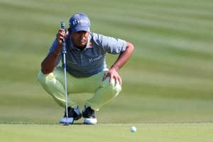 Indian golfer Anirban Lahiri slips back in third round at Texas Open