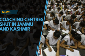 The Jammu and Kashmir government ordered the coaching centres in the...