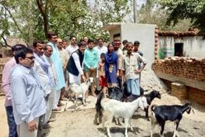 UP villager who sold his goats to build toilet gets reward, and a new...