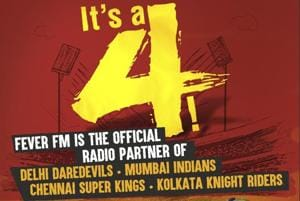 Fever FM partners with Daredevils, Mumbai Indians, KKR and Chennai...