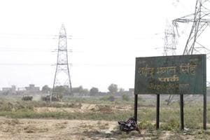 Work on Bhagat Singh Park in Sector 150 Noida begins
