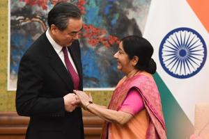 Sushma Swaraj asks Indians, Chinese to learn each other's language to...