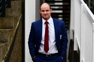File image of former England cricketer Andrew Strauss.