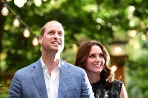 Champagne and joy in Britain as Prince William and Kate welcome third...