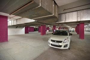 Noida: Multilevel parking in Sector 18 fails to attract vehicles
