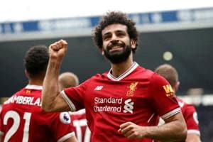 Liverpool's Egyptian star Mohamed Salah crowned PFA Player of the Year