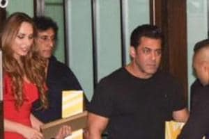 Salman Khan, alleged girlfriend Iulia Vantur in one pic. It wasn't...