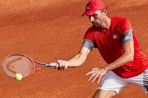 Ivo Karlovic beats former champ Tommy Robredo at Barcelona Open tennis