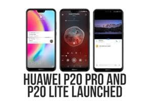 Huawei launched its latest P20 Pro and P20 Lite smartphones in India...