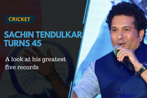 Former Indian cricketer Sachin Tendulkar turned 45 on April 24. Some...