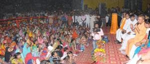 CM holds village chaupal, has dinner at Dalit home