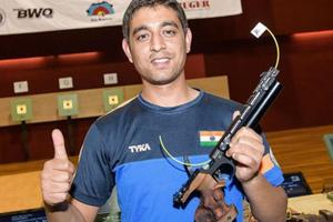 ISSF shooting World Cup: Shahzar Rivzi wins silver in 10m air pistol