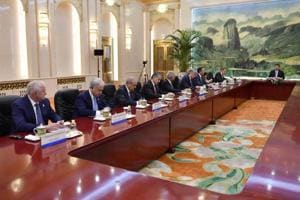 China says terrorism tops meeting of Central Asian states at SCO