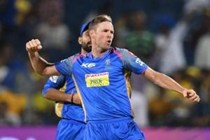 Rajasthan Royals' Ben Laughlin eyeing comeback in Australia T20 team...