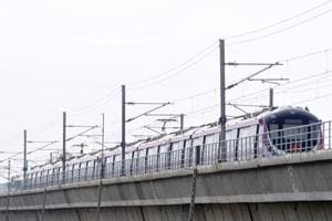 Delhi Metro trial for another section of Pink Line begins