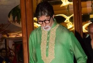 Amitabh Bachchan shares first look from new film and it could be from...