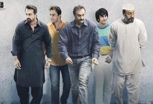 Sanju first poster: Ranbir Kapoor captures 5 stages of Sanjay Dutt's...