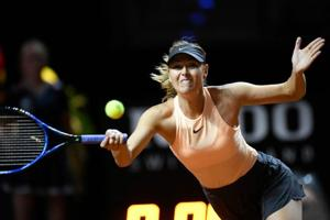 Maria Sharapova stunned by Caroline Garcia in Stuttgart Grand Prix...