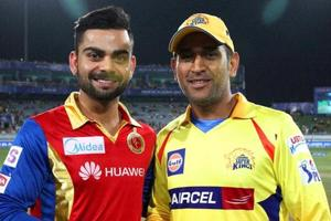 IPL 2018: Chennai Super Kings, Royal Challengers Bangalore renew...