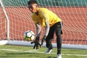 Former Indian Arrows goalkeeper Dheeraj Singh offered Motherwell FC...