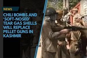 In Kashmir, CRPF looks at alternatives to pellet guns