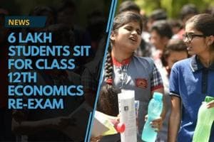 6 lakh students sit for Class 12th Economics re-exam
