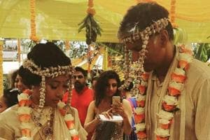 Milind Soman, Ankita Konwar exchange love notes on Instagram after...
