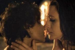 Unfreedom featured lesbian relationship.