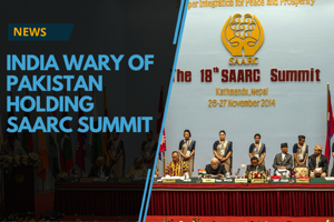Citing terrorism, India says time not ripe for SAARC summit in Pakistan
