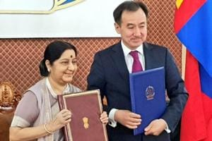 India and Mongolia to jointly combat terror, boost trade