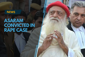 A Jodhpur court on Wednesday convicted self-styled godman Asaram of...