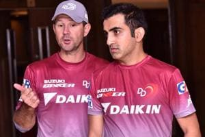 Gautam Gambhir stepped down as captain of Delhi Daredevils after performing poorly in IPL 2018. DD coach Ricky Ponting had also quit IPLcaptaincy after a poor run with Mumbai Indians.
