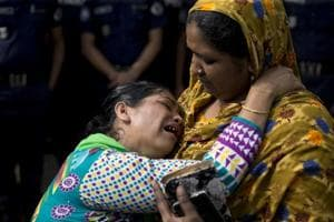 Photos: Five years after Rana Plaza collapse, demands for safety and...