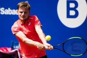 David Goffin fights back to beat Marcel Granollers at Barcelona Open