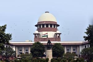 A view of Supreme Court building in New Delhi.