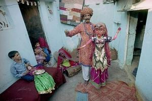 Photos: As redevelopment begins, Delhi's Kathputli Colony over...