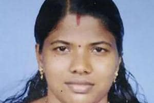 Police said they questioned the accused woman, Soumya (pictured), for 10 hours to unravel the murder plot.