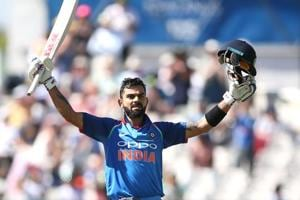 Virat Kohli, Indian cricket team captain, has been in superb form with the bat over the last few years.
