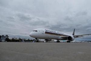 Singapore Airlines is now taking delivery of Airbus' newest wide-body, the A350-900. It has 21 planes in its fleet, of an order for 67 aircraft.
