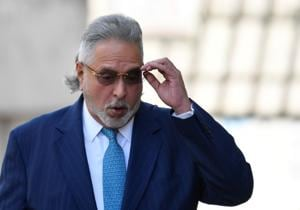 Vijay Mallya arrives at Westminster Magistrates Court in London.