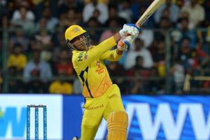 MSDhoni showed that he was still the best finisher in the business when his unbeaten 70 off 34 balls gave Chennai Super Kings a magnificent five-wicket win over Royal Challengers Bangalore.