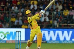 MS Dhoni scored 70 off 34 balls to guide Chennai Super Kings to a five-wicket win over Royal Challengers Bangalore in their IPL 2018 match on Wednesday.